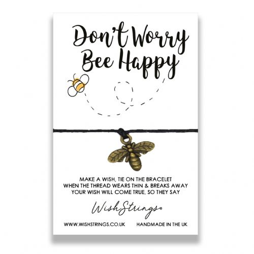 Bee Happy Wishstring
